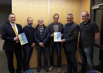 Sportentwicklungsbericht in Steyerberg übergeben