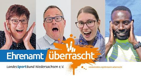 Ehrenamt überrascht©KSB Nienburg