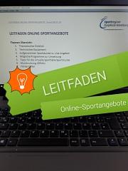 Leitfaden Online-Sportangebote