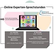 Online Experten-Sprechstunde