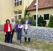 Preisverleihung ASS Sportabzeichen Schulwettbewerb 2017
